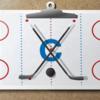 アイスホッケーコーチのクリップボード